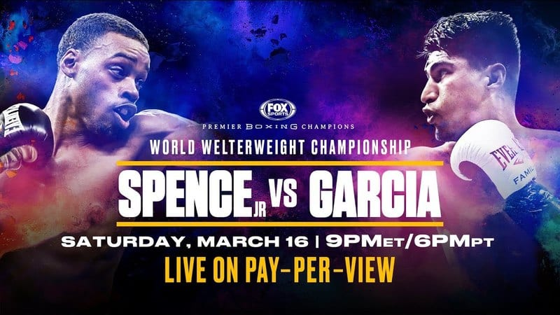 How to Watch Spence Jr. vs. Garcia Live Online