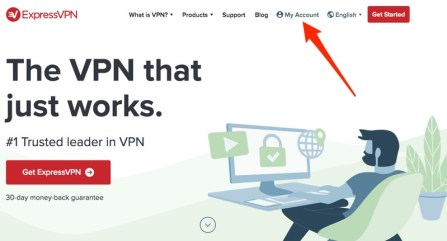 ExpressVPN My Account