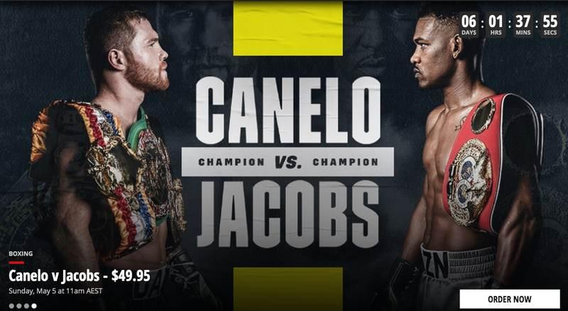 Main Event Canelo vs. Daniel