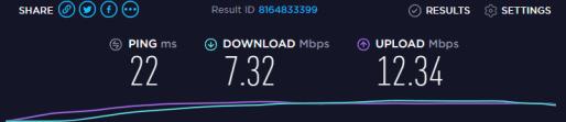 Speed Test 3