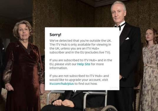 ITV Hub Error
