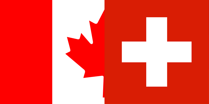 Watch Canada vs Switzerland with VPN