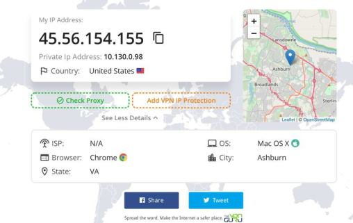 What's My IP Address? - Find Your IP Location Online - The
