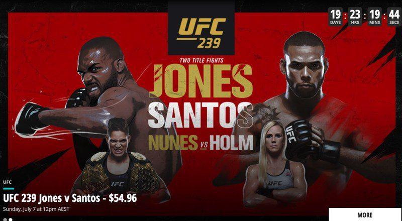 UFC 239 Main Event