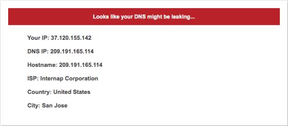 Unlocator DNS Leak