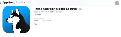 App Guardian Screenshot