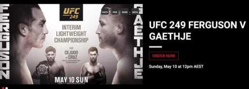 UFC 249 Main Event