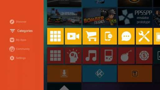 Aptoide TV Screenshot