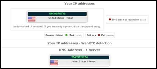 WeVPN DNS Leak