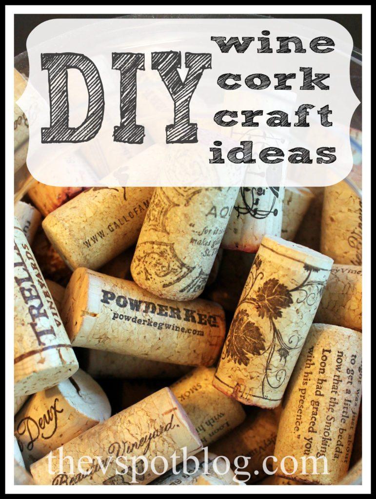 Sunday Rewind Wine Cork Crafts The V Spot