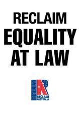 Reclaim Australia Equality
