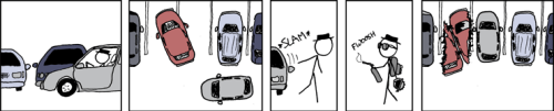 Parking from xkcd