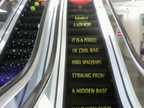 Escalator in the Tel Aviv Municipality Building via Beautiful Portals
