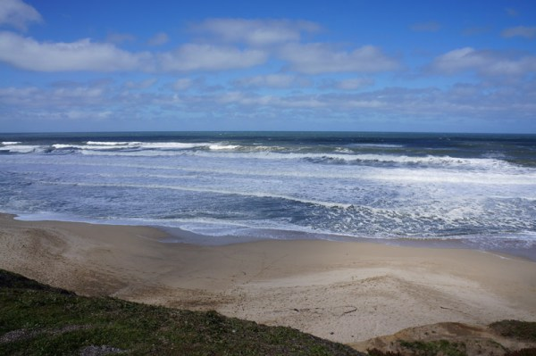 Beach along Coastside Trail, Half Moon Bay