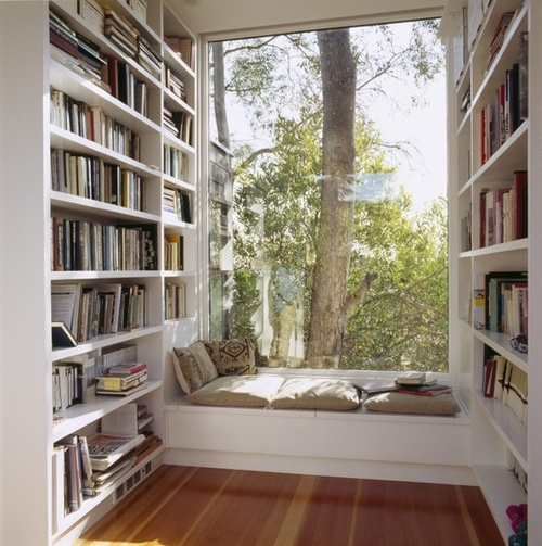 reading nook from Beautiful Portals Tumblr