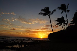 Sunset at Baby Beach