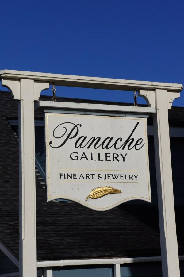 Panache Gallery sign