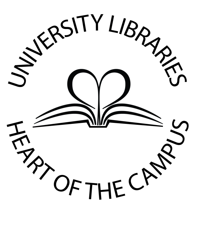 University Libraries, Heart of the Campus logo