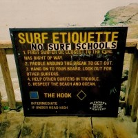 Don't Be A Kook Who's Gone Coastal While Surfing Your Board In Da' Hood
