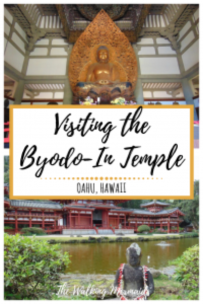 byodo in temple oahu hawaii overlay