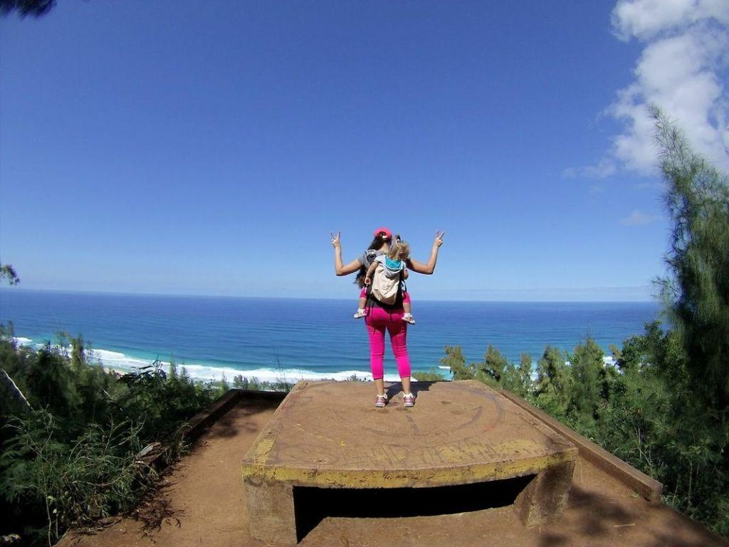 oahu hawaii ehukai pillbox hike