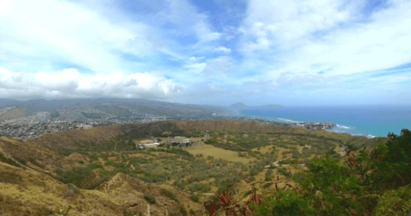 Diamond Head Crater Trail, Honolulu, Hawaii