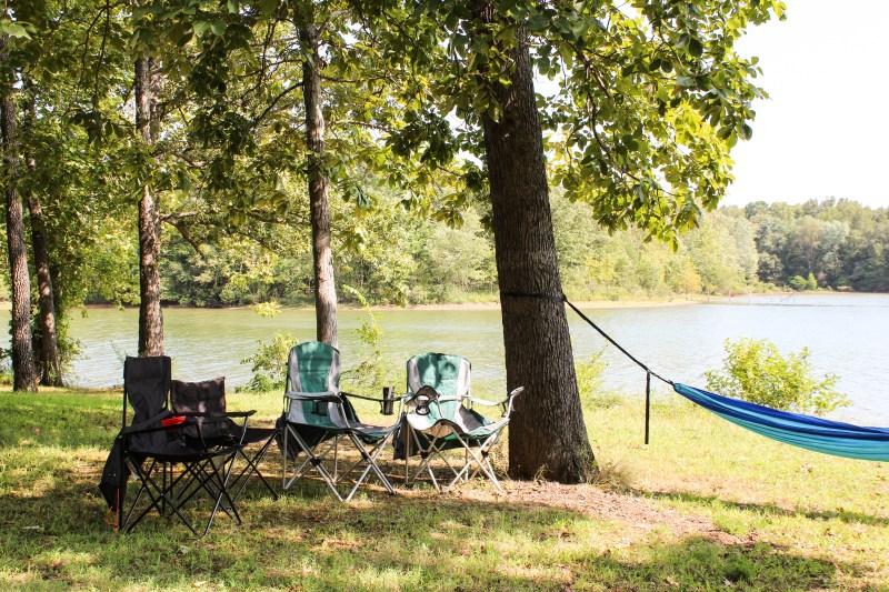 camping chairs at land between the lakes kentucky hammock