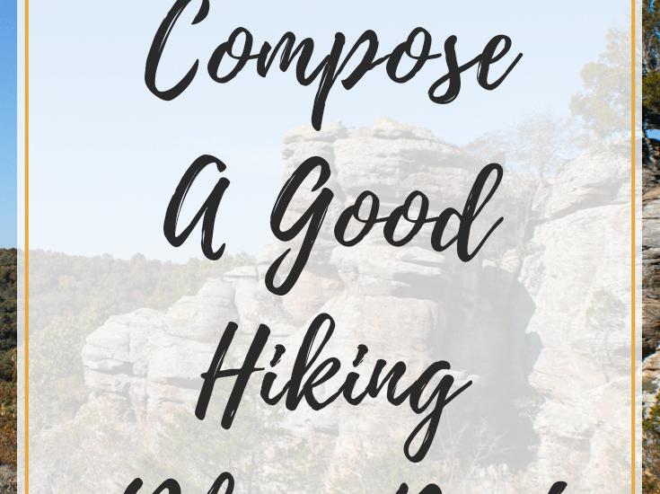 Hiking blog post