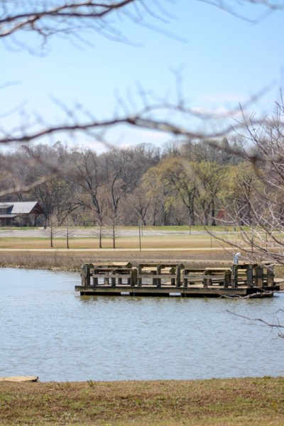 liberty park pond dock clarksville tn