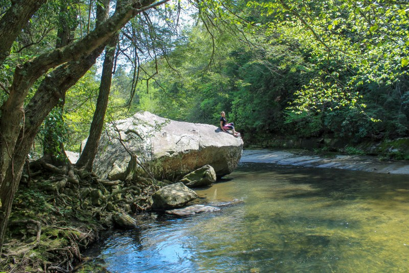 blue hole trail tennessee