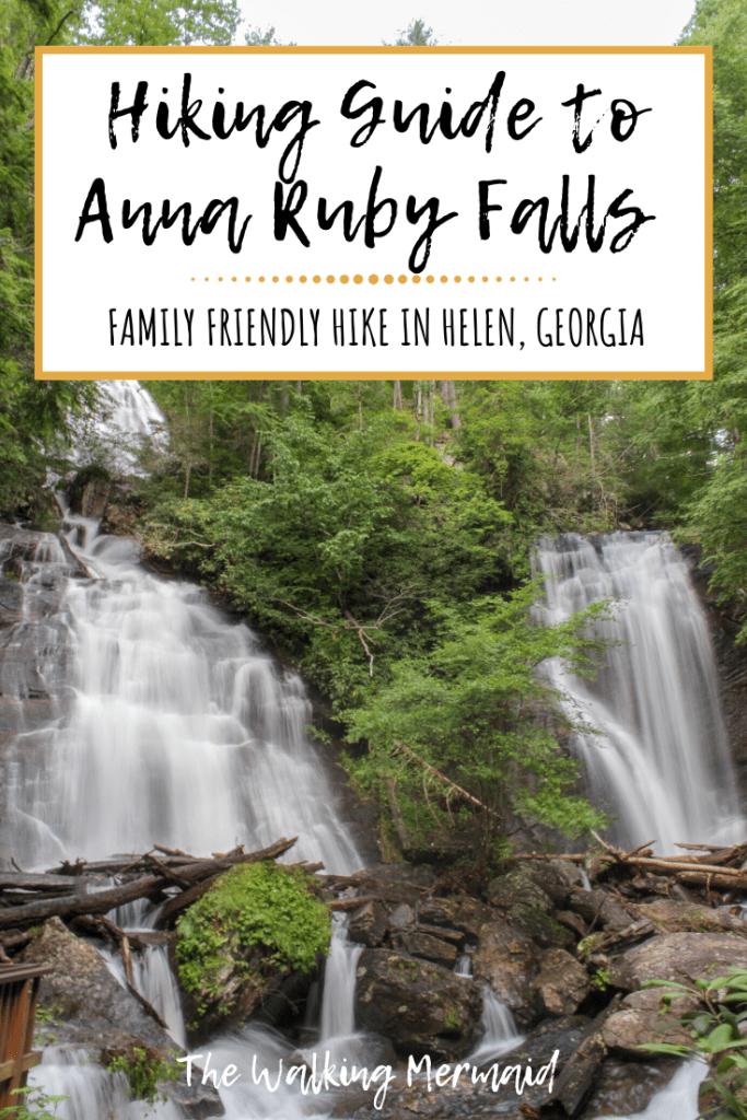 anna ruby falls hiking guide helen georgia