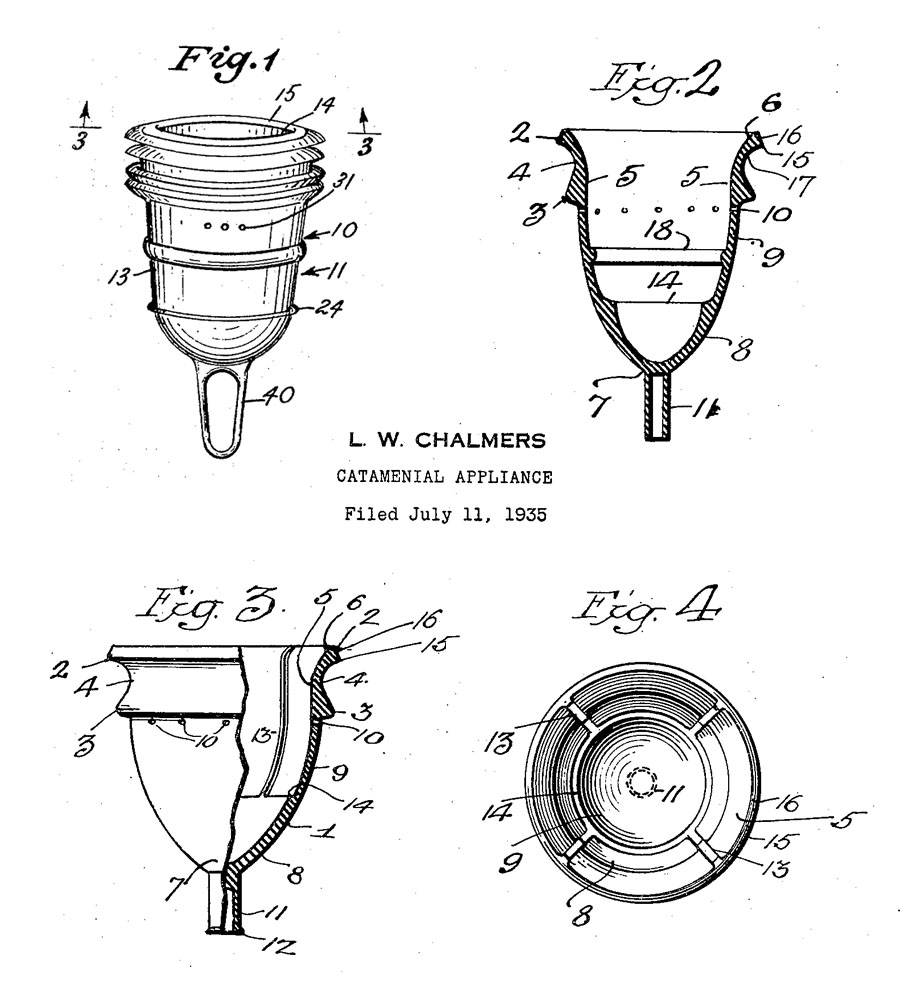 menstrual cup history