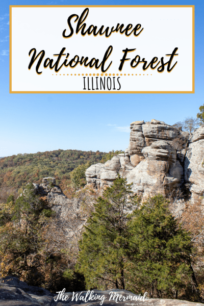 shawnee national forest illinois garden of the gods devils backbone hiking camping overlay
