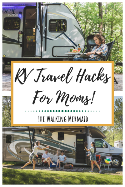 RV travel hacks for moms