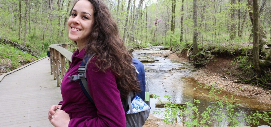 dealing with your period menstrual cycle women outdoors hiking camping backpacking