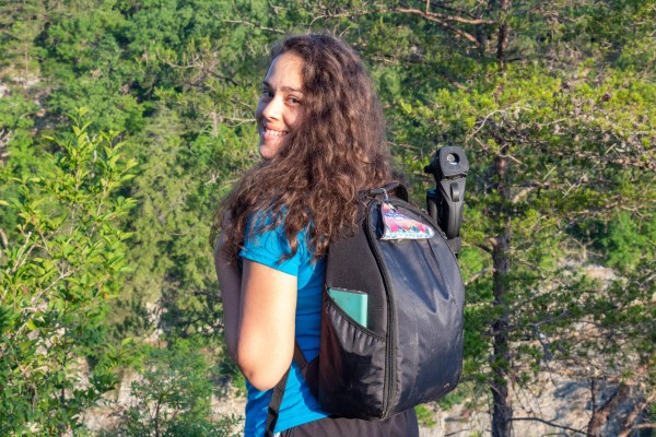 kula cloth photographer the walking mermaid jessica tejera curly hair hiking gear fall creek falls tennessee state park