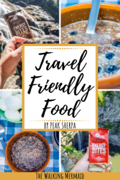 peak sherpa tsampa cereal barley energy bites organic food trail snacks camping backpacking hiking overlay pinterest pin