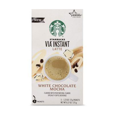 starbucks white chocolate mocha instant coffee
