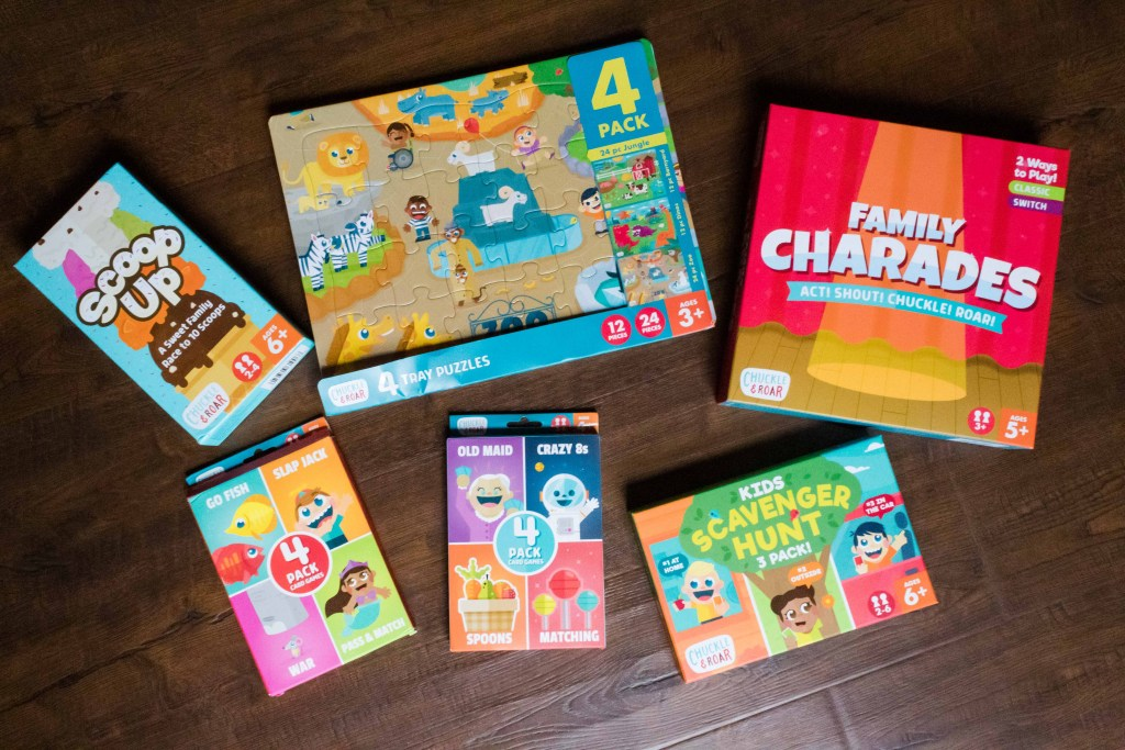 chuckle and roar games for kids