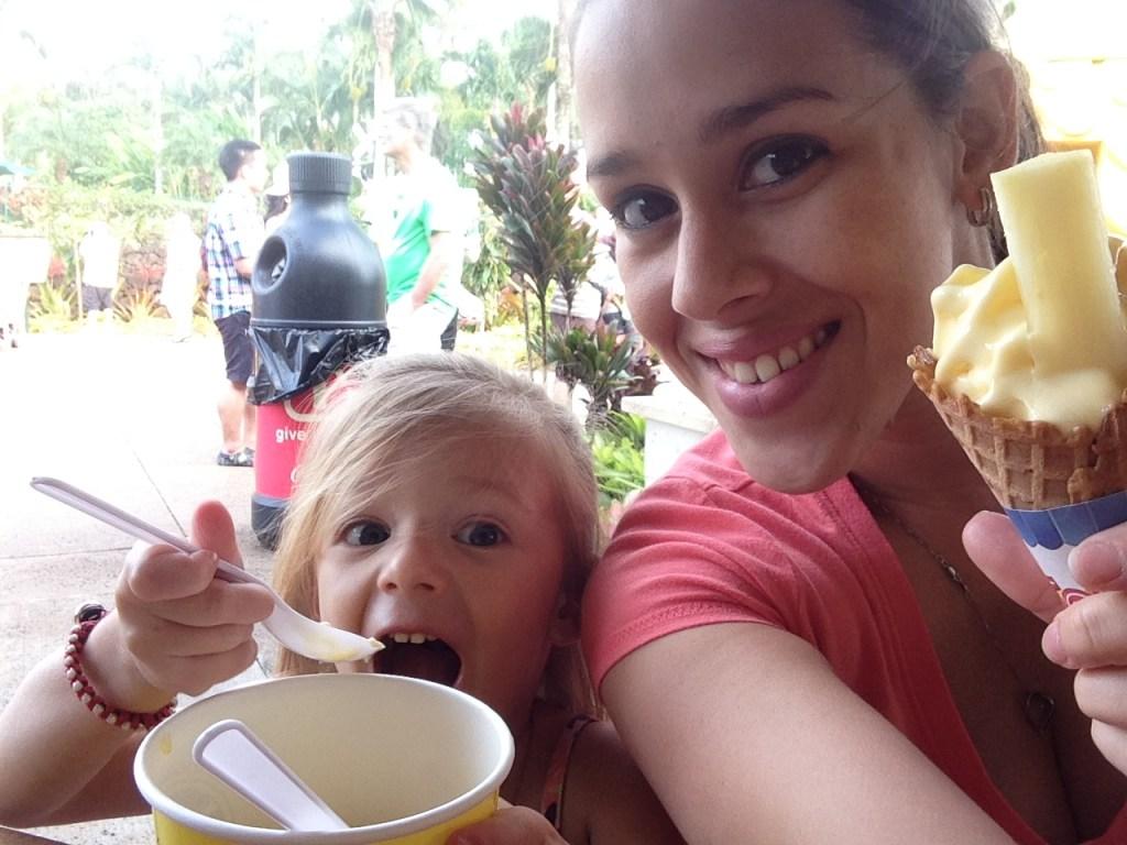 Dole Plantation Pineapple Ice Cream Wahiawa Oahu Hawaii - The Walking Mermaid