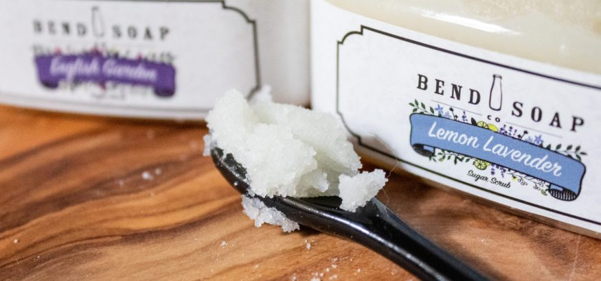 bend soap sugar scrub