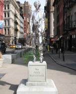 "Rob Pruitt, ""The Andy Monument"" (2011). Photo courtesy of the Public Art Fund."