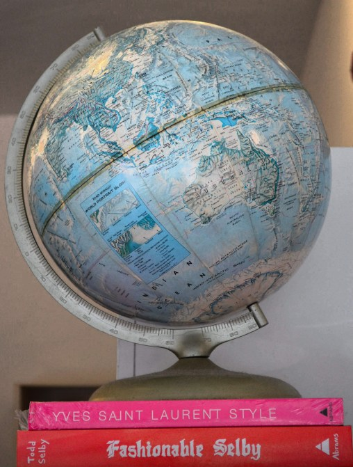 A globe from A Lovely Universe