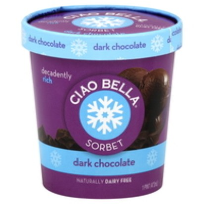 Ciao Bella Dark Chocolate Sorbet Pint