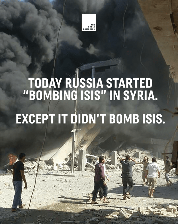 syria campaign russia