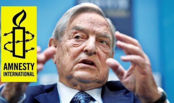 Afbeeldingsresultaat voor soros financing amnesty international