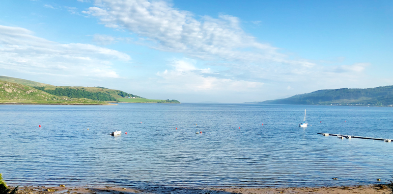 """Kyles of Bute a.k.a """"the view"""""""