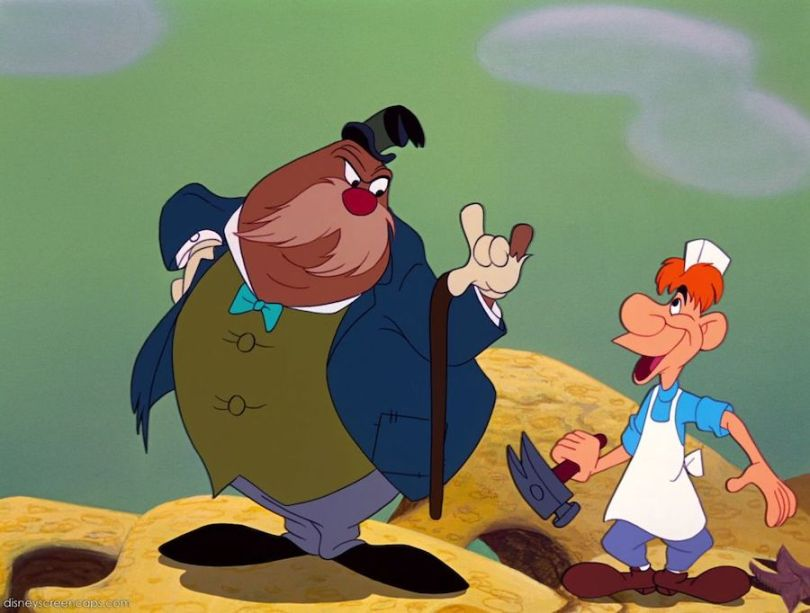 The Walrus and the Carpenter (c) Disney