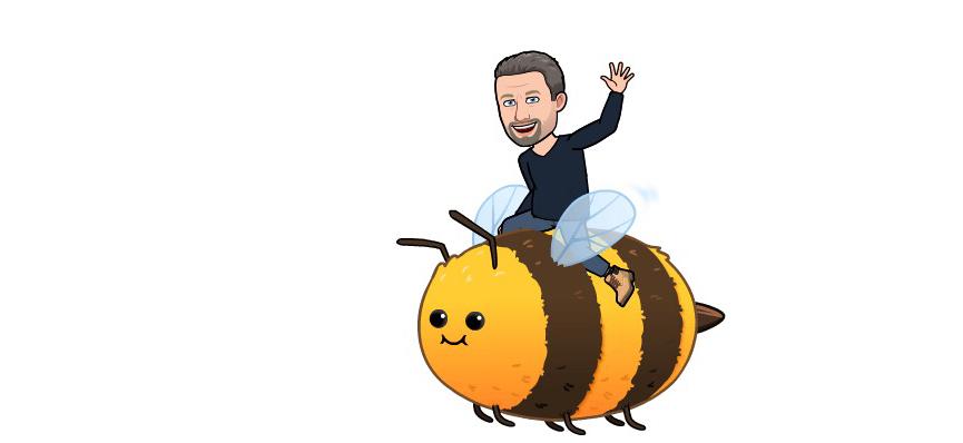Walrus on a bee