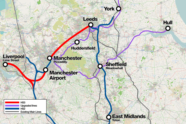 Map of proposed works